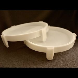 Tupperware Kitchen - Tupperware Set of 2 #511 Tupperware Divide-A-Rack